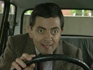 Mercedesul lui Mr. Bean va fi scos la licitatie!