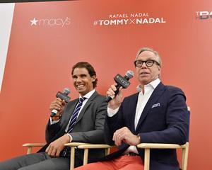 Nadal face reclama pentru brandul Tommy Hilfiger