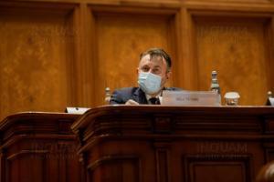 Parlamentul a adoptat motiunea impotriva ministrului Sanatatii. E a 7-a motiune impotriva unui ministru din Cabinetul Orban
