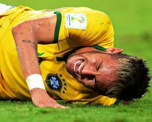 Brazilia 2014: Neymar are coloana fracturata