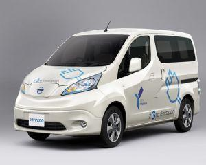 Nissan va lansa furgoneta electrica e-NV200 in urmatorii doi ani