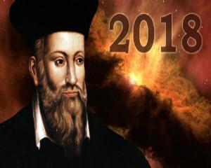 Cele sase previziuni sumbre ale lui Nostradamus pentru 2018