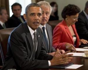 """Obama """"aniverseaza"""" cinci ani de criza in SUA"""