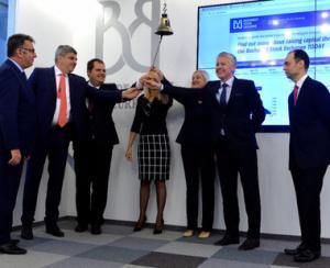 Emisiune de obligatiuni corporative decontata direct in euro la BVB