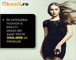 Okazii.ro gazduieste cele mai multe produse de Fashion si Beauty din tara