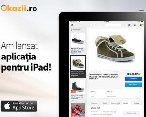 Okazii.ro lanseaza cea mai complexa aplicatie pentru iPad a unui magazin online romanesc