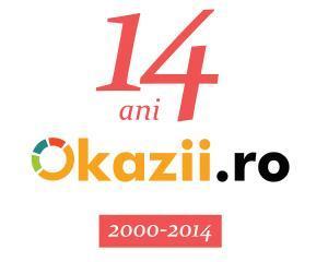 Okazii.ro implineste astazi 14 ani de activitate