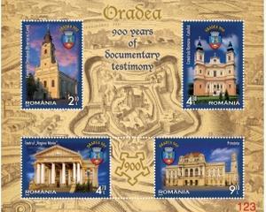 900 de ani de la atestarea Oradei, pe timbre