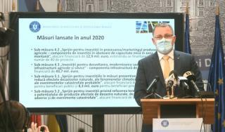 Ministrul Agriculturii si seful Statului Major al Apararii, testati pozitiv la COVID-19