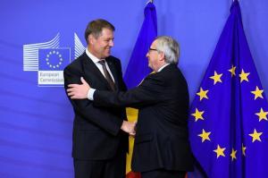 Klaus Iohannis merge la Bruxelles pentru a discuta despre justitie