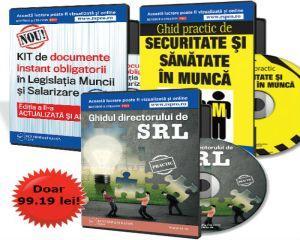 Kitul Administratorului de SRL. 3 lucrari de specialitate pentru profesionisti