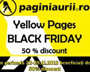 Pagini Aurii participa la Black Friday