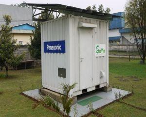 Panasonic a prezentat o centrala solara compacta