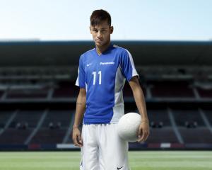 Fotbalistul Neymar este imaginea Panasonic
