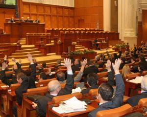 Lupta in Parlament pentru