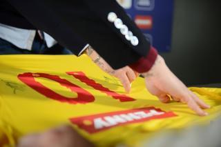 Sponsor principal comun al Echipei nationale de fotbal si al Romaniei Under 21