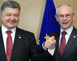 Ucraina si Uniunea Europeana au semnat un acord economic istoric