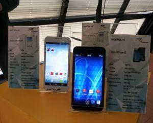 Primele smartphone-uri cat se poate de SERIOUX: Network One Distribution lanseaza Symbiosis X4 si Whisper X2