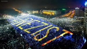 Romania, din nou in strada. Piata Victoriei - Speranta nemuritoare a izbavirii