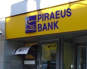 Piraeus Bank Romania a facut profit brut de 3,3 milioane de euro