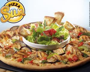 Pizza Sun, combinatia de vara a Pizza Hut