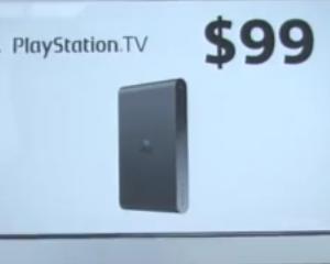 Sony lanseaza PlayStation TV, un produs de 99 de dolari