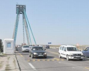 Podul de la Agigea se inchide din nou, cand partial, cand complet