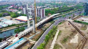 Un deceniu de lucrari pentru Podul peste Dambovita, in zadar