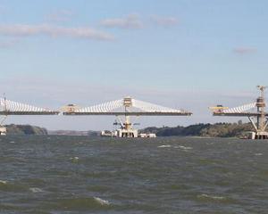 Noul pod catre Bulgaria se deschide sambata. Ar putea functiona fara taxe pana pe 1 iulie