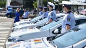 Parcul auto al Politiei continua sa creasca. Pana la finalul anului, mai vin 1.300 de bucati