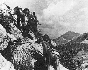 "11 mai 1944: trupele aliate iau cu aslat ""Linia Gustav"", avansand spre Roma"