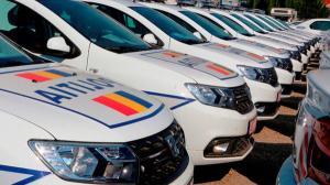 Politia si Politia de Frontiera au primit masini noi