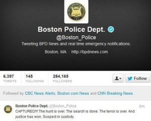 Politia nu mai da comunicate, ci tweet-uri