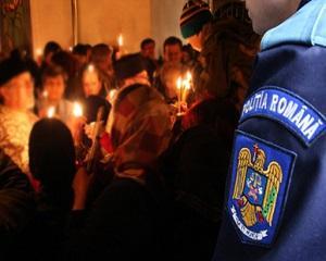 Peste 500 de politisti vor actiona in Ilfov pentru asigurarea ordinii si linistii publice de Paste