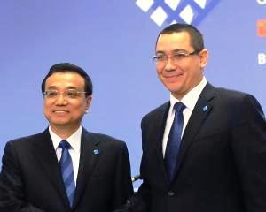 Victor Ponta si Li Keqiang: O relatie personala. Chinezii promit investitii de peste 5 miliarde euro