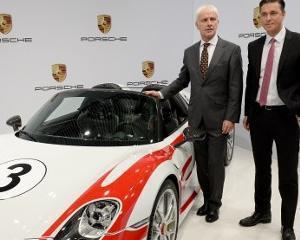 Porsche va scoate pe piata o noua masina sport