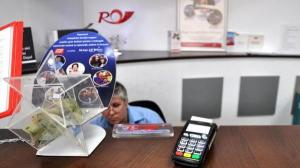 Plati cu cardul in oficiile Postei Romane si serviciu de personalizare a plicurilor de corespondenta