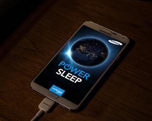 Samsung sustine aplicatia Power Sleep