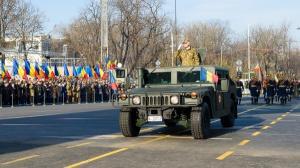 De Ziua Nationala a Romaniei, Parada Militara la Bucuresti si ceremonie militara la Alba Iulia