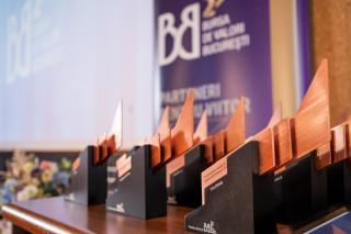 Bursa de Valori Bucuresti a acordat 15 premii pentru cele mai performante companii in anul bursier 2019