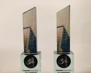 Skanska a castigat doua premii la prestigioasa competitie internationala Eurobuild CEE
