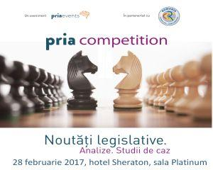 PRIA Competition Conference, cel mai important eveniment dedicat concurentei, va avea loc pe 28 februarie 2017