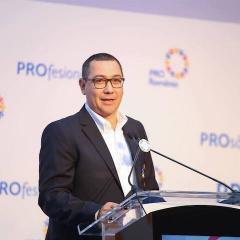 Victor Ponta: Pro Romania se poate alia cu ALDE daca Tariceanu iese de la guvernare