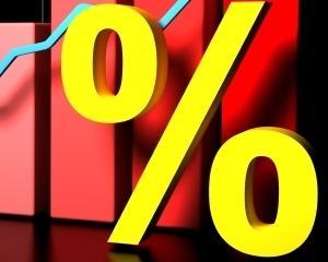 Romania s-a imprumutat la minimum de dobanda de 2,973%