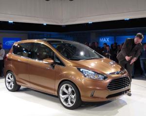 Ford va sista timp de patru zile productia B-Max in Romania