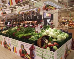 Oficial: hipermarket-urile sunt obligate sa vanda 51% produse romanesti