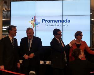 Andrei Chiliman, prezent la conferinta de deschidere a Centrului Comercial PROMENADA: Ii felicit pe toti cei care au lucrat la acest proiect frumos, care ridica valoarea zonei