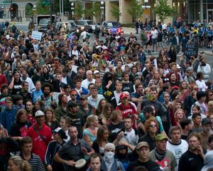 Misiunea FMI, intimpinata de proteste