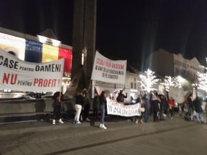 Proteste in strada din cauza chiriilor prea mari: Da, Doamne, sa dispara piata imobiliara