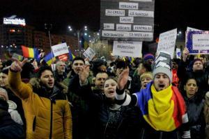 Romania, din nou in strada pentru apararea Justitiei: Mii de oameni au protestat in marile orase ale tarii